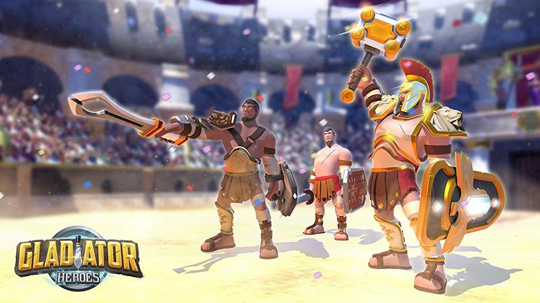 «Gladiator Heroes» станет одной из первых игр с технологией Augmented Reality