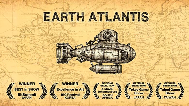 Станьте охотником на подводных чудовищ в «Earth Atlantis»