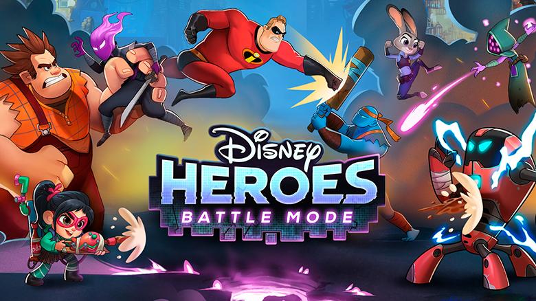 «Disney Heroes: Battle Mode» – создайте команду из героев Disney и Pixar, спасите вселенную от злобного вируса!