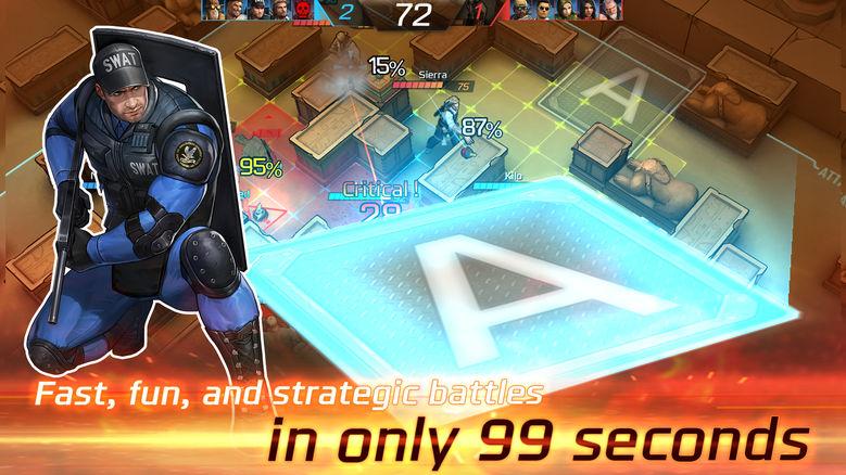 «Tango 5»: очень быстрые сражения 5 на 5 в реальном времени [софт-запуск]