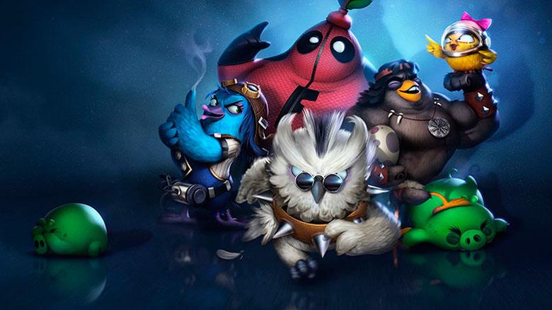 «Angry Birds Evolution» — пополнение серии, теперь с элементами стратегии и RPG