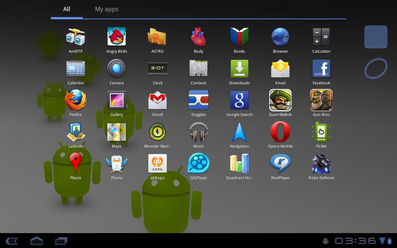 Большой выбор программ для устройств на Android