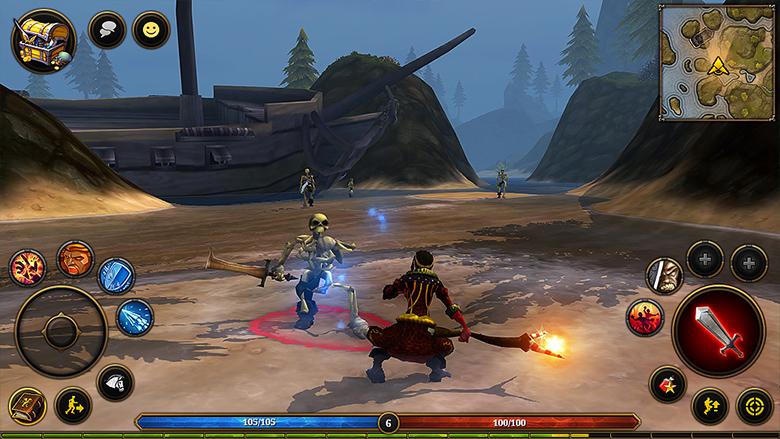 Кросс-платформенная MMORPG «Villagers and Heroes» посетит iOS уже в феврале вместе с обновлением «Starfall»
