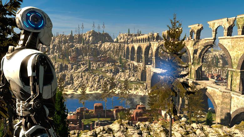 Состоялся релиз порта великолепной «The Talos Principle» от создателей «Serious Sam»