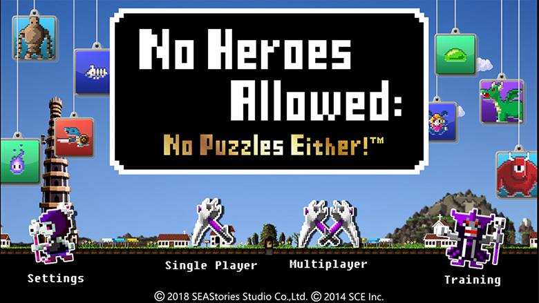 «No Heroes Allowed: No Puzzles Either!» причудливая RPG с нестандартным игровым процессом