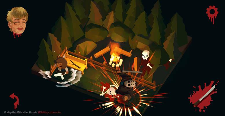 Состоялся мировой релиз «Friday 13th: Killer Puzzle», головоломки про злодея фильмов «Пятница 13-е»