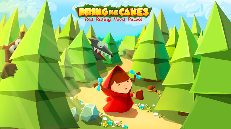 Выход головоломки-слайдера про Красную Шапочку «Bring Me Cakes»