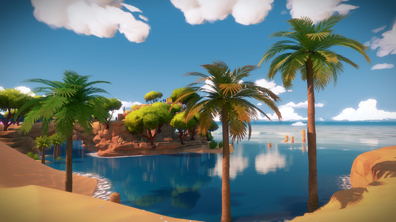 Красочная «The Witness» Джонатана Блоу добралась до iOS