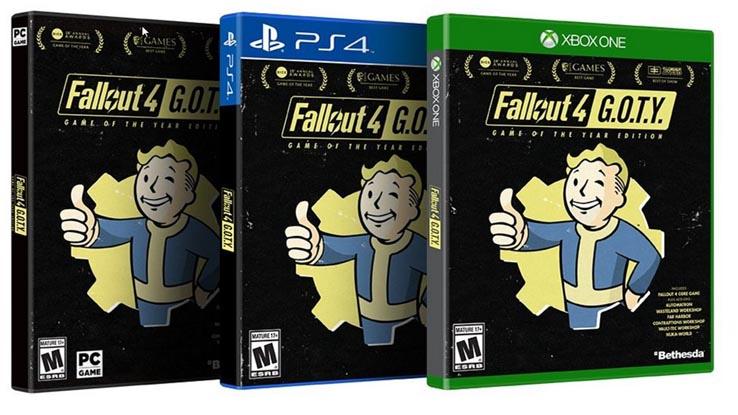 Очень скоро Fallout 4 получит версию Game Of The Year Edition