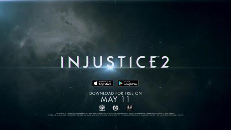 Вышла мобильная версия Injustice 2