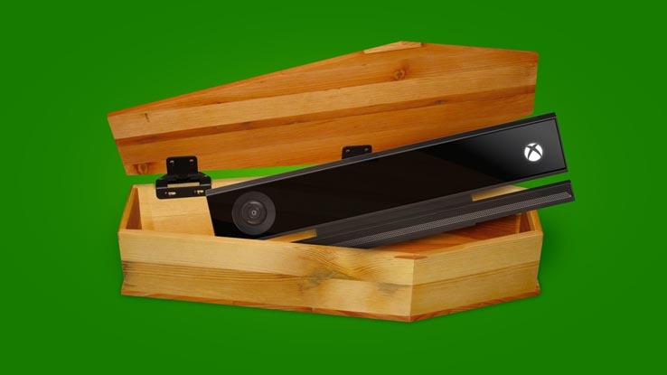 Microsoft прекращает производство Kinect