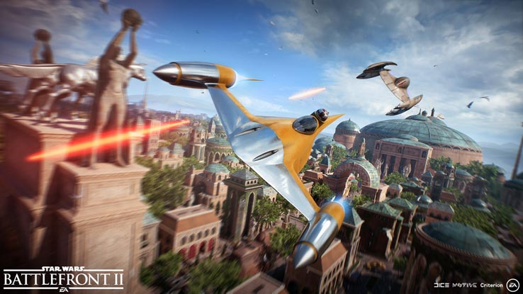 Воздушные схватки в Star Wars: Battlefront 2 будут значительно улучшены