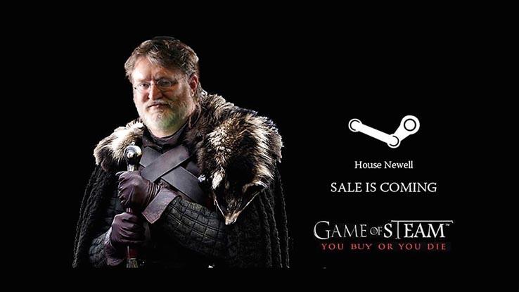 Летняя распродажа в Steam начнётся 22 июня