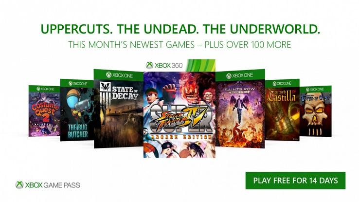 Библиотека игр Xbox Game Pass пополнилась в октябре на семь игр