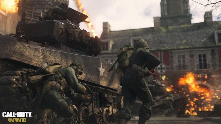 Стал известен бонус за участие в бета-тестировании Call of Duty: WWII