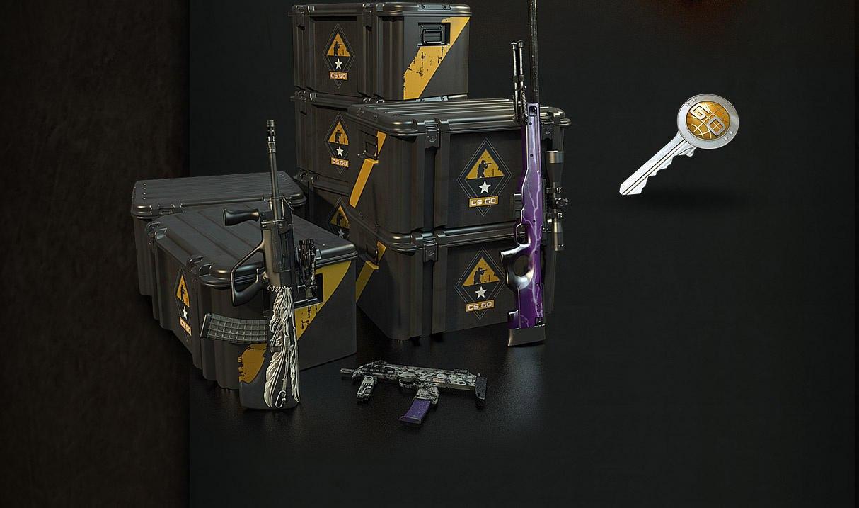 Покупка кейсов для CS:GO