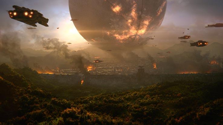 Последний Город пал под натиском Красного Легиона и его предводителя Гула, а человечество было вынуждено отступить из своего последнего безопасного убежища.