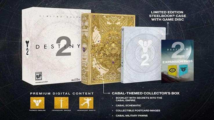 Limited Edition (цена — 100$) будет содержать в себе саму игру, металлический футляр, Expansion Pass и множество других физических и цифровых бонусов.