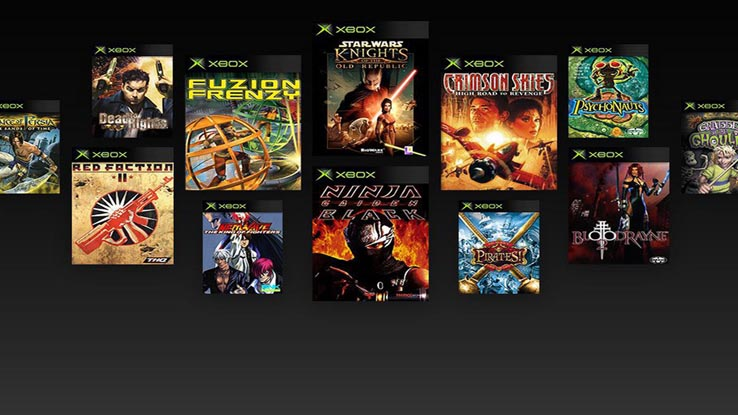 Первая партия игр от первой консоли Xbox стала доступна сегодня на Xbox One