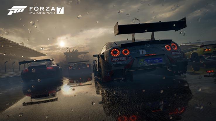 Forza Motorsport 7 ушла на золото