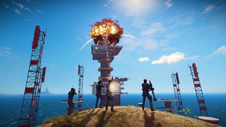 Мультиплеерный мод для Just Cause 3 стал доступен в Steam