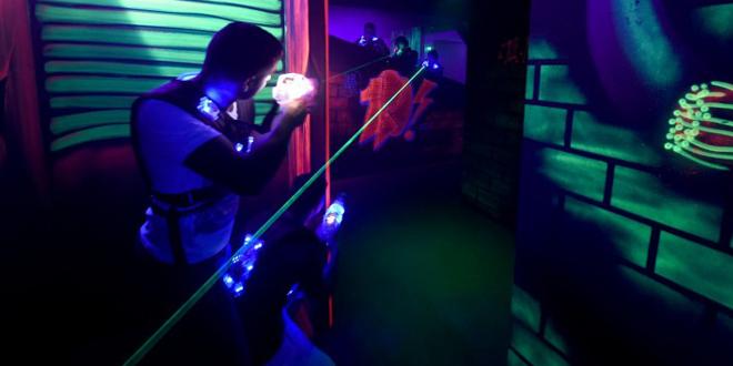 Удивительный мир лазертага для Вас