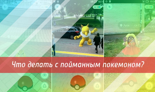 FAQ по Pokemon Go