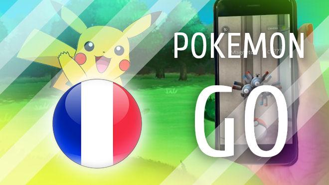 Игра Pokemon GO вышла во Франции