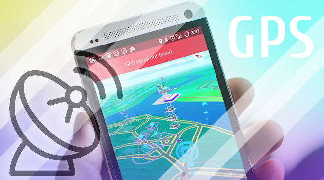 «GPS signal not found» в Pokemon GO