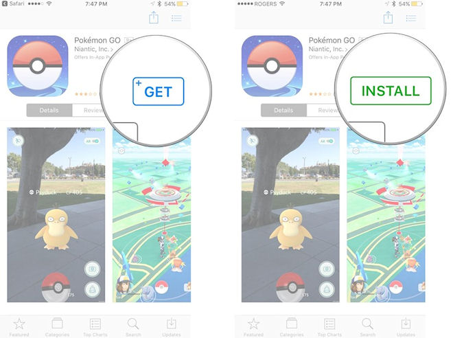 Pokemon Go iOS: как скачать и установить