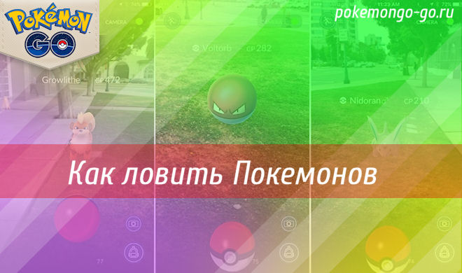 Как играть в Pokemon Go