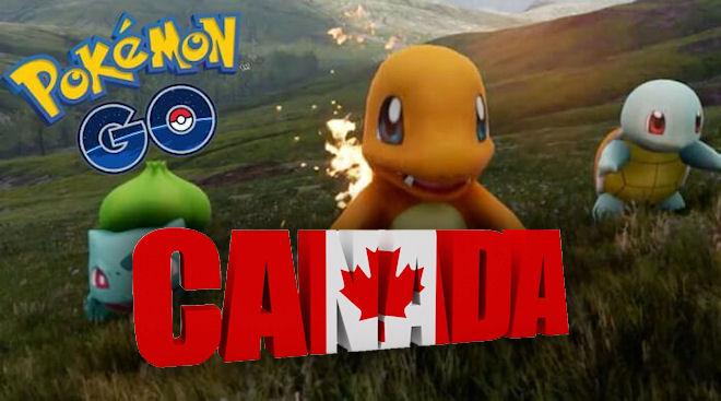 Pokemon Go доступен в Канаде