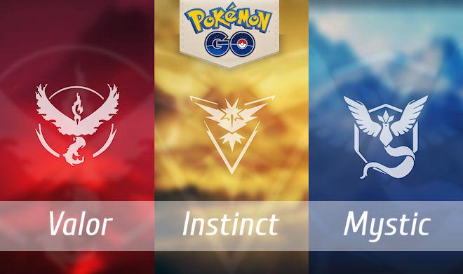 Как изменить команду в Pokemon Go?