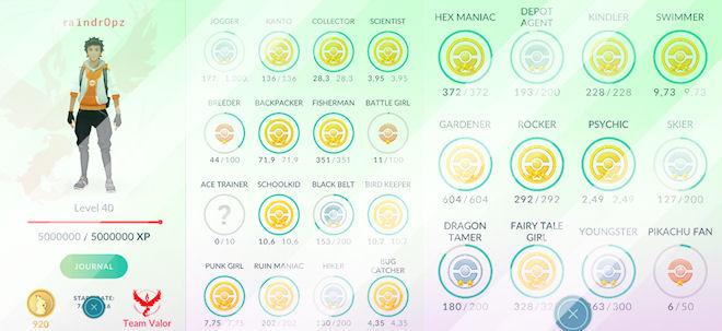 Pokemon GO: максимальный уровень 40 достигнут!