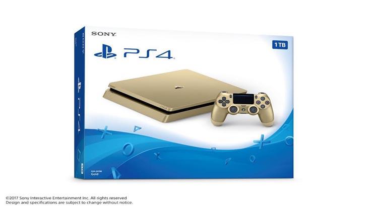 В честь Е3 Sony выпустит «золотую» PS4 (обновлено)