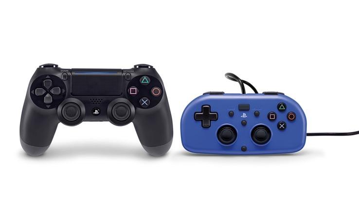 Sony представила официальный проводной мини-геймпад для PS4