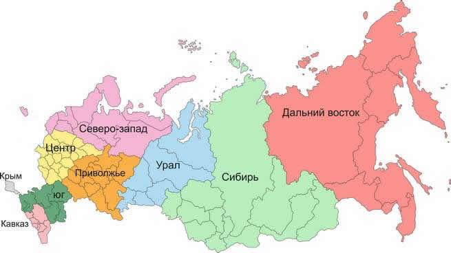 Интерактивная карта Уральского ФО