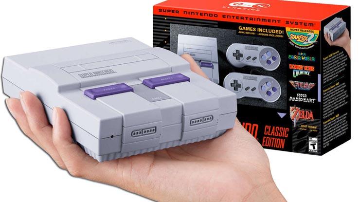 Nintendo объявила о выпуске приставки Super NES Classic Edition