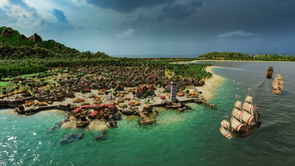 Захватывающий мир игры Port Royale 4