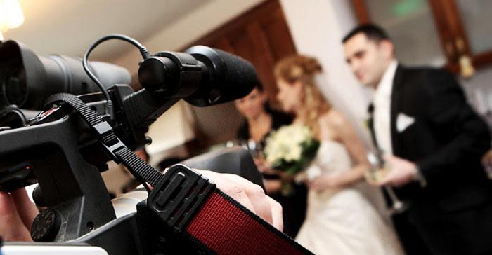 Профессиональная съёмка на свадьбу