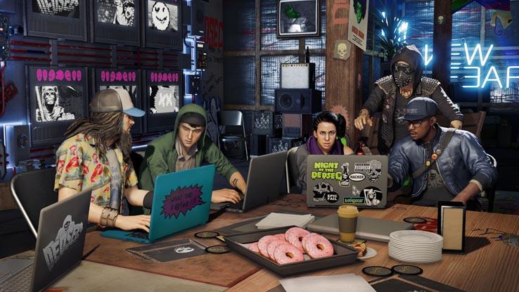 В Watch Dogs 2 появится кооператив на 4 человека
