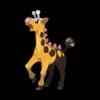 Характеристики покемона Girafarig #203