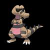 Характеристики покемона Krokorok #552