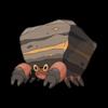 Характеристики покемона Crustle #558