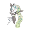 Характеристики покемона Meloetta #648