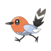 Характеристики покемона Fletchling #661