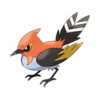 Характеристики покемона Fletchinder #662